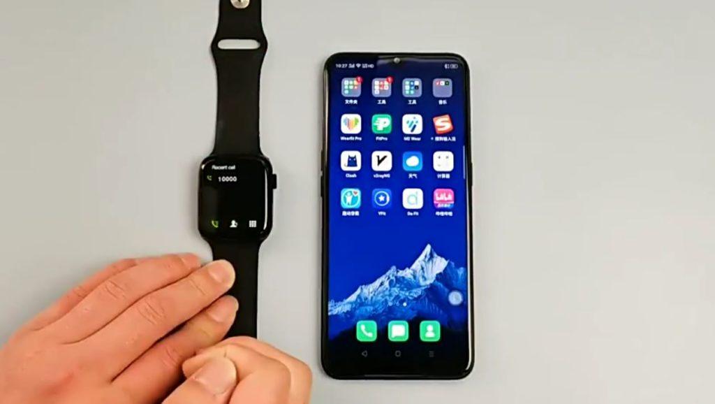 HW22 Smartwatch Review Best Clone Of Apple Watch in 2021 14 / lahorestore.pk