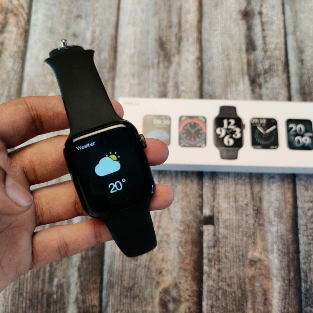 HW22 Smartwatch Review Best Clone Of Apple Watch in 2021 22 / lahorestore.pk